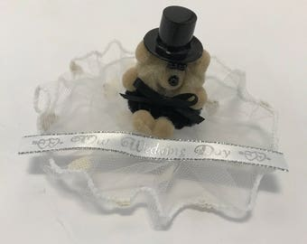 Wedding Groom Package Topper or Gift