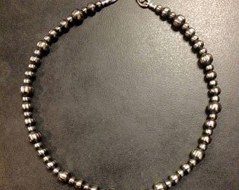 Navajo Pearls Necklace #105