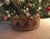 Christmas Tree Basket -PATTERN ONLY