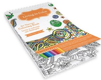 adult and teen coloring book 55 x 85 abstract patterns flowers - Teen Coloring Books