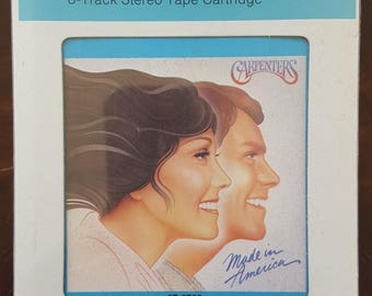 Carpenters Made In America 8T 3723 New Sealed Vintage 8-Track Tape
