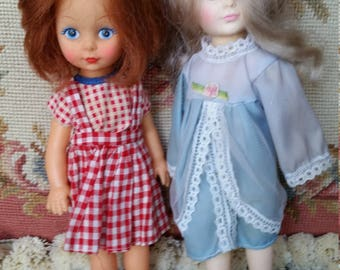 Vintage 2 dolls,  Jesco and made in hong kong
