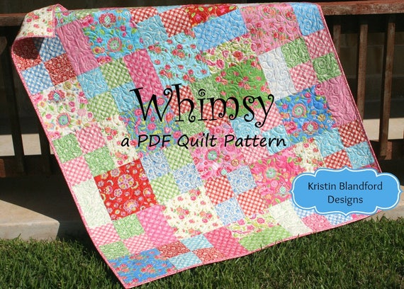 Layer Cake Quilt Pattern Whimsy Moda Baby Quilt and Throw : baby quilt cake - Adamdwight.com