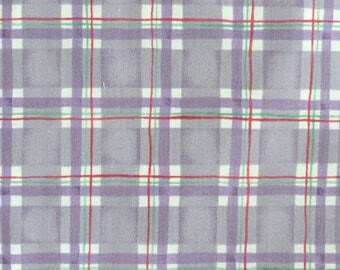 Red Rooster Fabric, Brook's Garden, 9631, Lilac plaid, purple, lavender