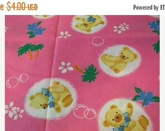 Insane Sale Aloha Bear Fabric