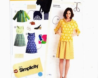 Simplicity 2209 Szs 14-22 Misses Dress and Jacket Lisette Sew Your Style UNCUT