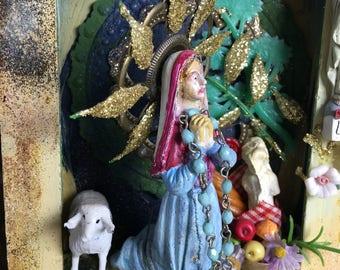 St Bernadette original shrine