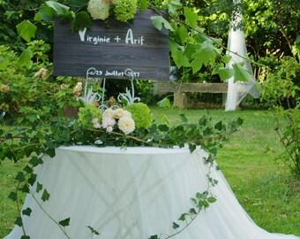 mariage décoration rustique Livre d'or alternatif panneau personnalisé signatures de vos invités