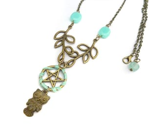Be Witch Owlie Necklace