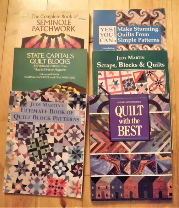 Book Cover Watercolor Quilts ~ Lot of quilt books making quilts pattern