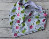 Pineapple Bibdana - Baby Girl - Drool Bib