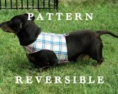 Dog harness DIY sewing pattern leash instructions too