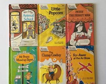 1960's Easy Reader Wonder Books (6)