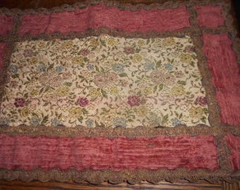 Free Shipping - French Table Scarf - Place Mat - OOAK
