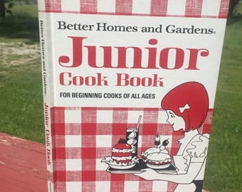 Vintage childrens cook book, Better Homes and Gardens