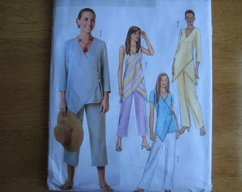 Butterick Pattern B4238 Misses' Top and Pants      2004       Uncut