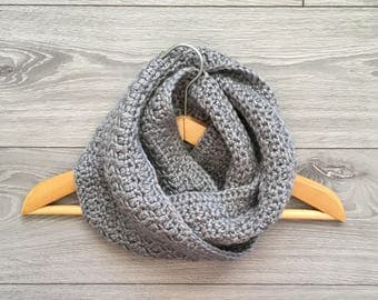Ready to Ship - Crochet Super Soft Infinity Scarf