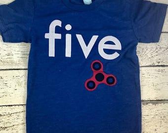spinner, spinner shirt, spinner party, boys birthday shirt, spinner favor, spinner invite, unique kids tee, birthday shirt, spinner birthday