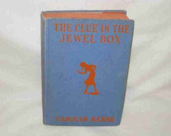 Nancy Drew The Clue In The Jewel Box Carolyn Keene Book 1943