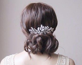 Bridal hair vine wedding hair wreath crystal hair vine bridal hair comb wedding hair comb