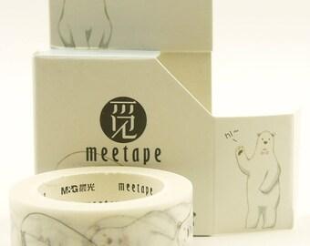 White Bear Pub - Japanese Washi Masking Tape - 20mm wide - 11 yard