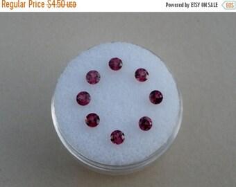 ON SALE 8 Garnet Round gem 3mm each