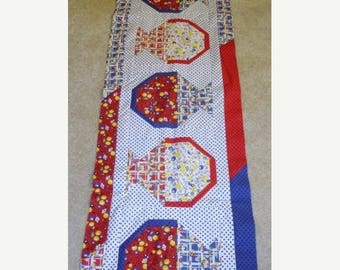20 % off thru 8/20 A TISKET a TASKET May Baskets quilted table runner pattern Spring may Year two
