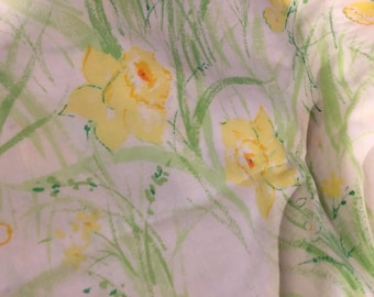 Pillowcase floral and BUTTERFLY print pair