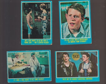 Lot of 4 Happy Days TV show trading cards Ron Howard Bosley