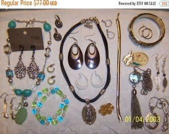 TWICE A YEAR, 25% Off Vintage Jewelry (Lot 98). Med. and Small.