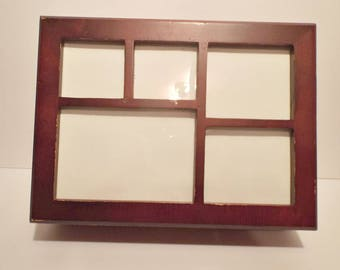 Vintage Wooden Photo Box
