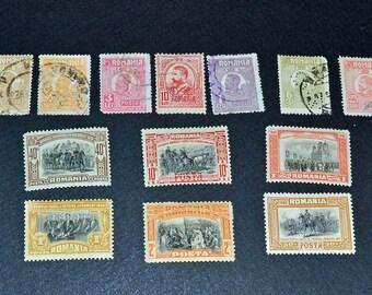 Romania 13 many mint from 1906