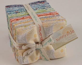 Sunnyside Fabric Collection by Kate Spain for Moda Fabrics - 1 Fat Quarter Bundle of 40