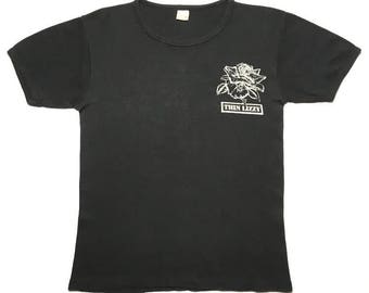 THIN LIZZY vintage 1979 tour shirt - XS