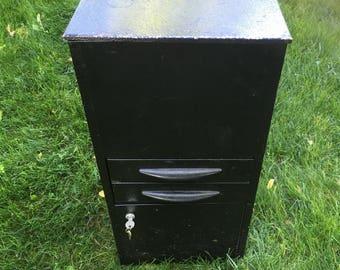 Vintage file cabinet file drawers• vintage metal cabinet