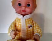 Vintage 1975 Fisher Price Lap Sitter Honey Doll