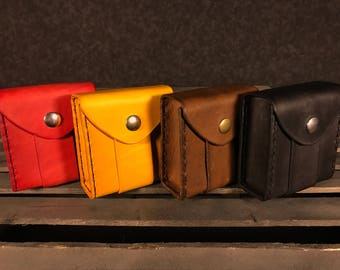 All-Purpose Leather Belt Pouches