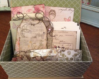 Box Set of Cards and Tags