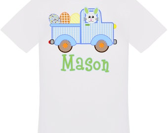 Personalized Easter Truck T-Shirt