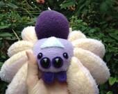 Rainbow spider - handmade plush spider