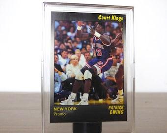 1990 Promo Patrick Ewing Star Co. Card Basketball NBA New York Knicks