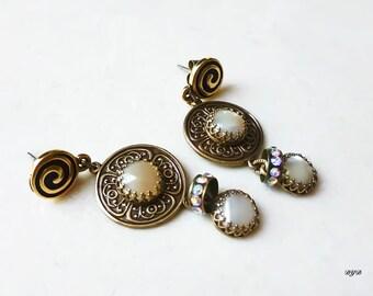 Earrings - Creamy Pearls