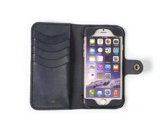 iPhone 6 (s) Leather Phone Case Wallet / sale / clearance / iphone 6 case / iphone 6s wallet/ iphone case / iphone 6 leather