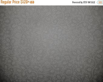 ON SALE Floral Fabric, White, Tone on Tone, White Floral Vine Fabric, White Floral Fabric, 01163A