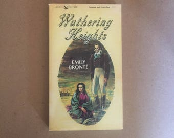 Wuthering Heights By Emily Bronte (1963, Paperback) An Airmont Classic