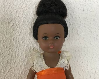 """African American Ginny Vogue Doll 8"""""""