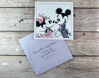 Disney Save the Dates, Save The Dates