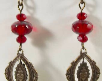 Sacred Heart Catholic Earrings Jewelry