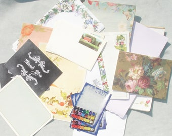 Large Lot of Stationary - Pen Pal Supplies - Paper Crafts