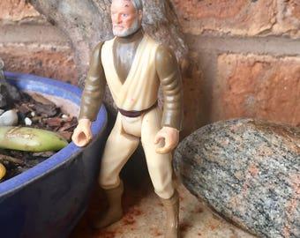1995 Star Wars Obi Wan Kenobi Action Figure, Kenner Power of the Force